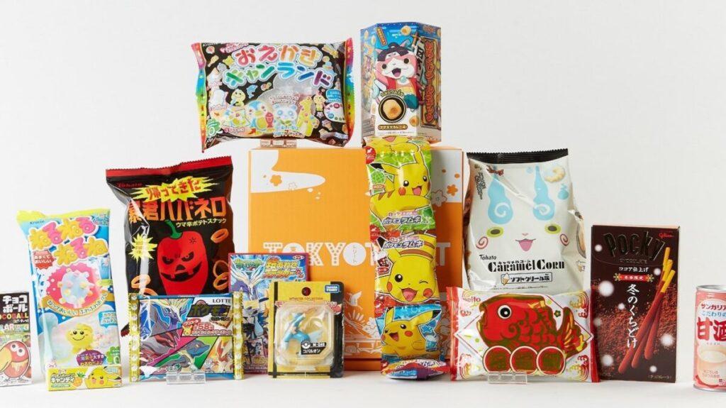 日本のお菓子を定期購入できるサービス、Tokyo Treat